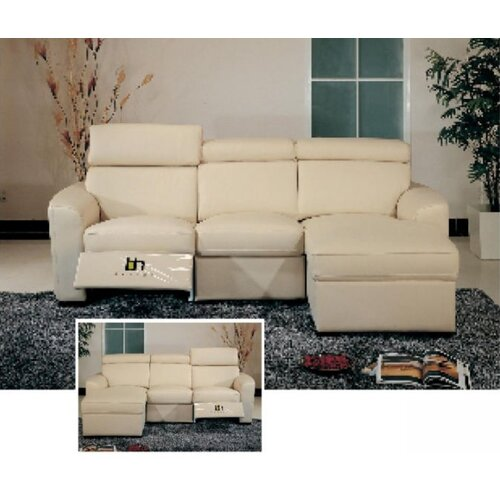 Hokku Designs Matisse Leather Sectional