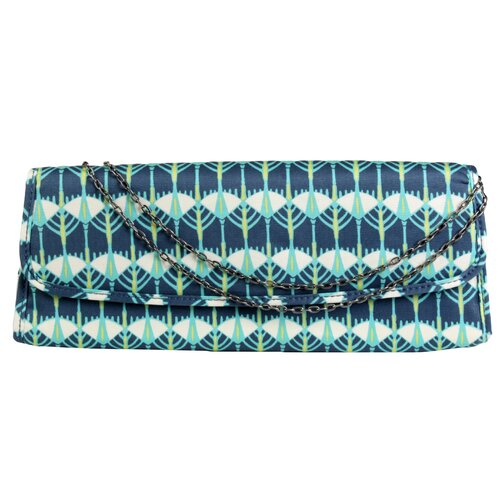 Amy Butler Blue Imperial Brenda Clutch