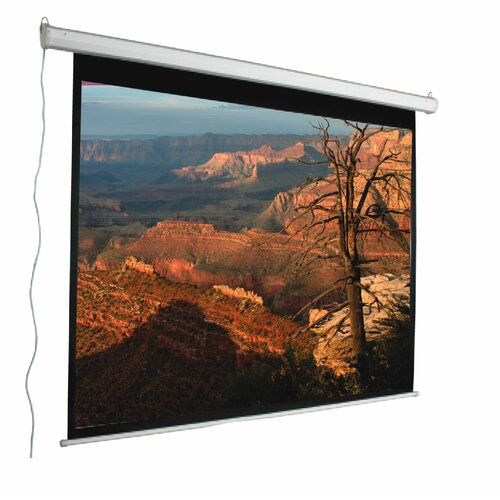 """Mustang Aspect Ratio Matte White 100"""" Electric Projection Screen"""