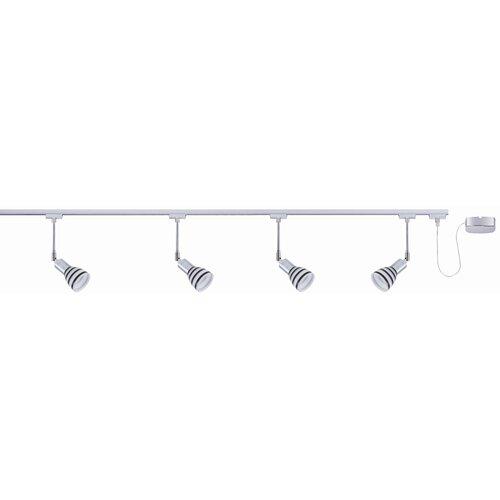urail 230v 4 light track titurel complete systems set. Black Bedroom Furniture Sets. Home Design Ideas