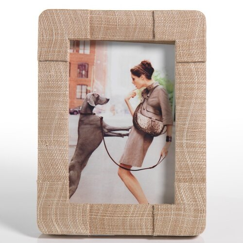 Silken Natural Abaca Picture Frame