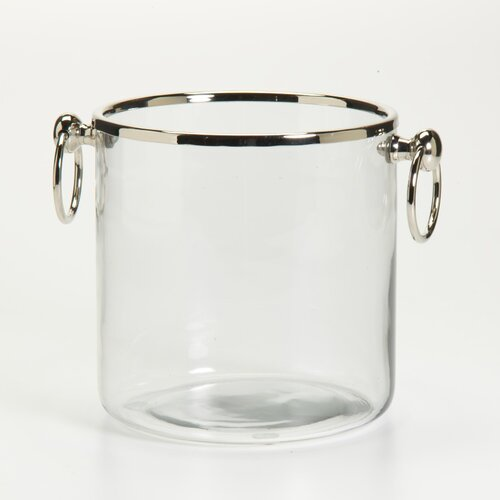 Barclay Butera Montecito Ice Bucket with Ring Handles