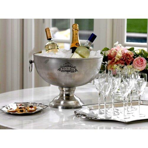 Zodax Hôtel de Paris Footed Centerpiece Bowl