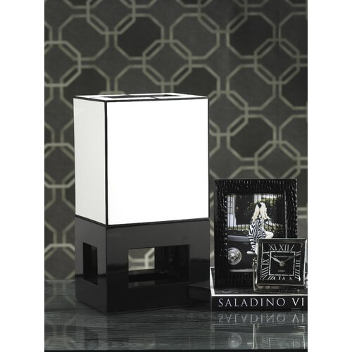 "Zodax Tribeca 17.5"" H Table Lamp with Rectangle Shade"