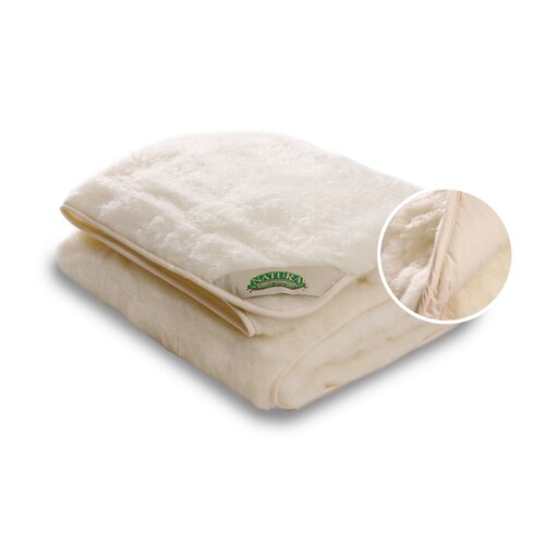 Natura Duet Top Wool and Cotton Mattress Pad & Reviews
