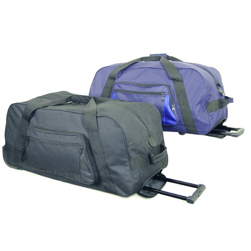 """Netpack 28"""" 2-Wheeled Lightweight Sports Travel Duffel"""