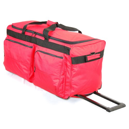 2-Wheeled Corner Travel Duffel