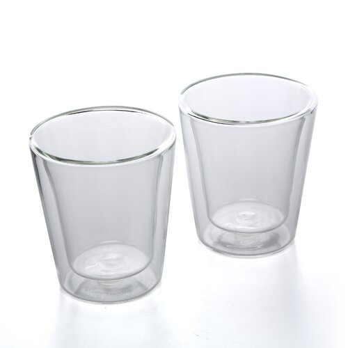 Bodum Canteen 6 oz Double Wall Insulated Glass Cup