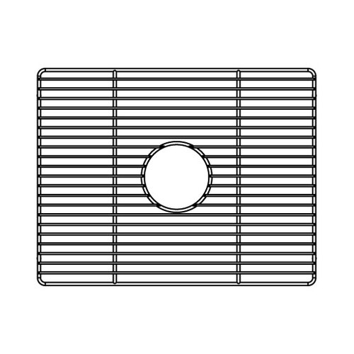 "Julien 18"" x 14"" Electropolished Grid for Kitchen Sink Bowl"