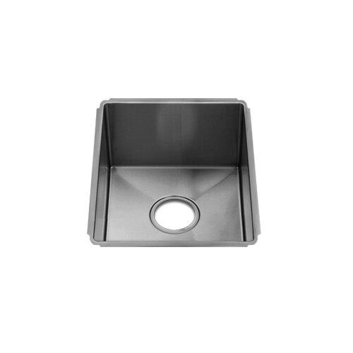 "Julien J7 13"" x 17.5"" Undermount Single Bowl Kitchen Sink"