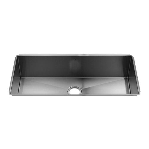 """Julien J7 37"""" x 17.5"""" Undermount Single Bowl Kitchen Sink"""