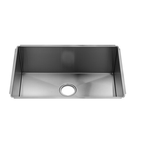 "Julien J7 28"" x 18.5"" Undermount Single Bowl Kitchen Sink"