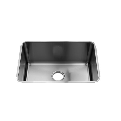 "Julien Classic 25"" x 18.5"" Undermount Single Bowl Kitchen Sink"
