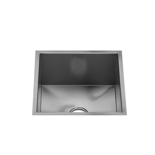 "Julien UrbanEdge 13.5"" x 13"" Single Bowl Specialty Kitchen Sink"