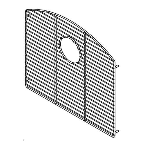 """Julien 19"""" x 17"""" Electropolished Grid for 20''x18'' Sink Bowl"""