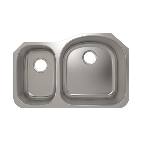 "Julien 28.38"" x 10.63"" Contour Undermount Kitchen Sink"