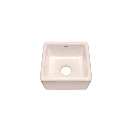 "Julien F110 15"" x 15"" Undermount Single Bowl Specialty Kitchen Sink"