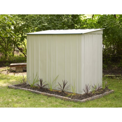 Eurolite 10 Ft W X 4 Ft D Steel Lean To Shed Wayfair