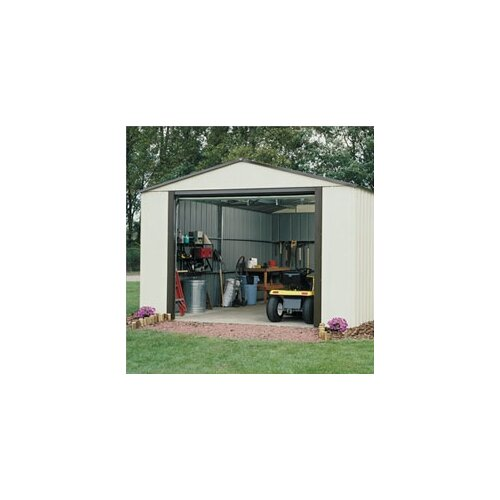 Murryhill 14' W x 21' D Vinyl Coated Steel Storage Shed