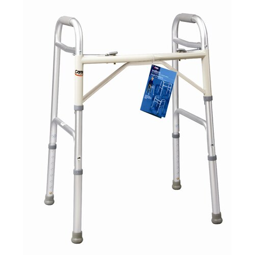 Carex Adult Dual Paddle Extra Wide Walker
