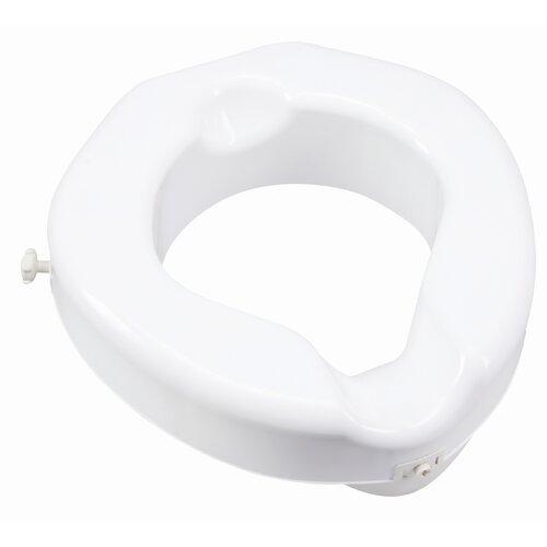 Safe Lock Raised Toilet Seat