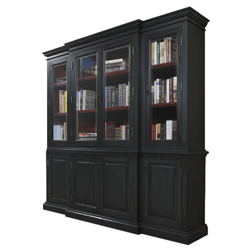 "A&E Wood Designs French Restoration Chelsea 84"" Bookcase"