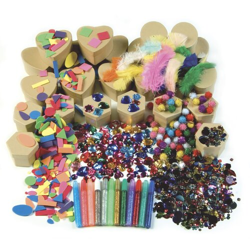 Chenille Kraft Company Papier Mache Boxes Activity Box