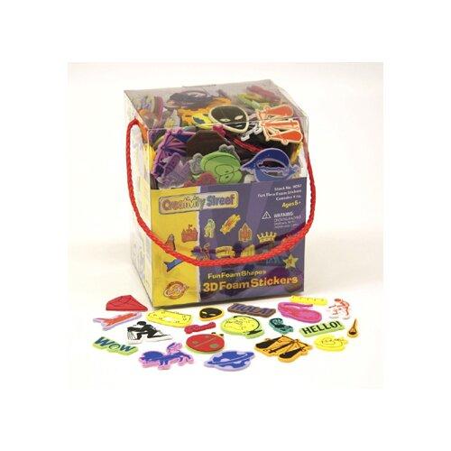 Chenille Kraft Company 3d Foam Sticker Box Whimsical Shape