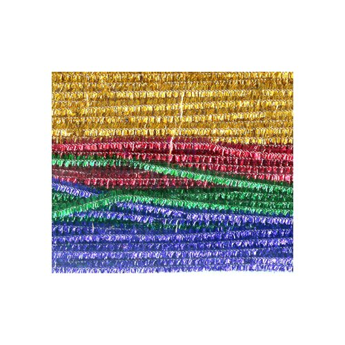 Chenille Kraft Company Chenille Stems Assorted 12 Sparkle
