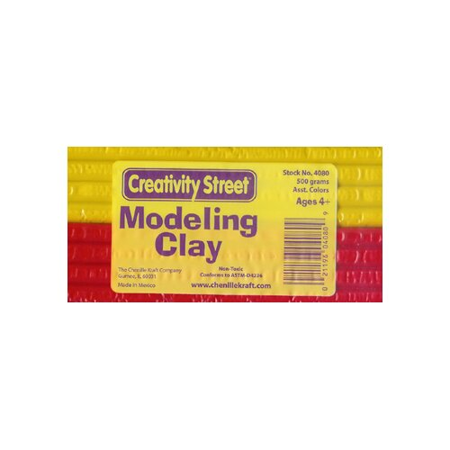 Chenille Kraft Company Exruded Modeling Clay 6 Assorted Colors
