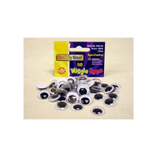 Chenille Kraft Company Wiggle Eyes 15mm