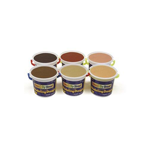 Chenille Kraft Company Multi-cultural Modeling Dough Asst