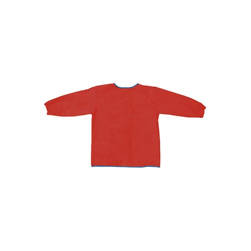 Chenille Kraft Company Long Sleeve Artist Smock Red