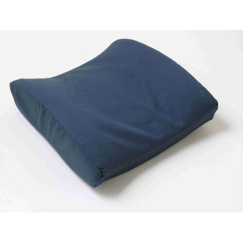 Val Med Lumbar Cushion with Navy Cotton Cover