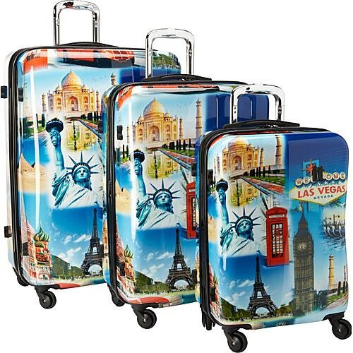 St. Christol 3 Piece Luggage Set