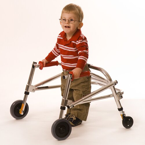 Kaye Products Small Child's Walker Rear Leg Wheel