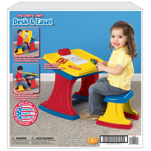 American Plastic Toys My Very Own Desk And Easel Amp Reviews