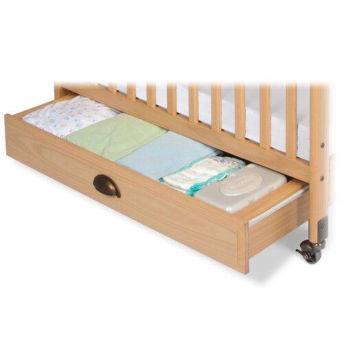 Professional Child Care Compact Crib Storage Drawer