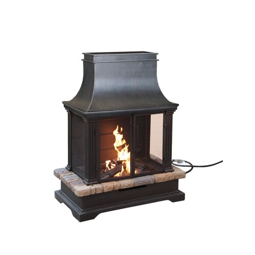 portable outdoor fireplace images