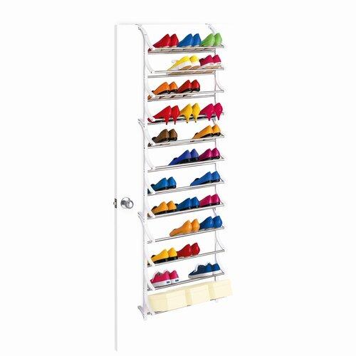 Lynk 36 Pair OverDoor Shoe Rack