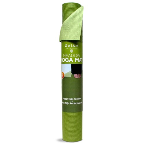"Gaiam 0.12"" Meadow Solid Yoga Mat"
