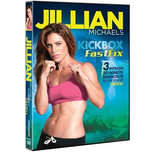 Gaiam Jillian Michaels Kickbox FastFix DVD