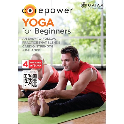 Gaiam Core Power Yoga for Beginners DVD