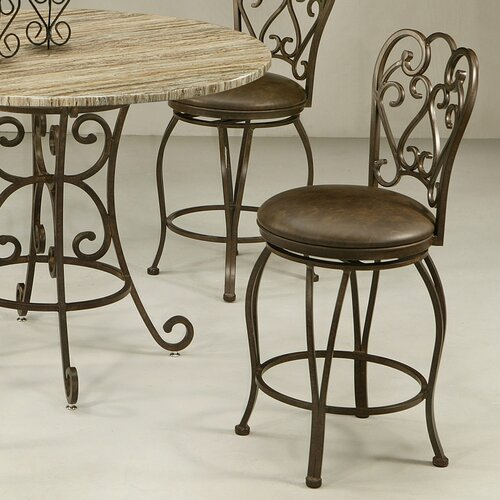 Magnolia swivel bar stool wayfair for Magnolia home furniture bar stools