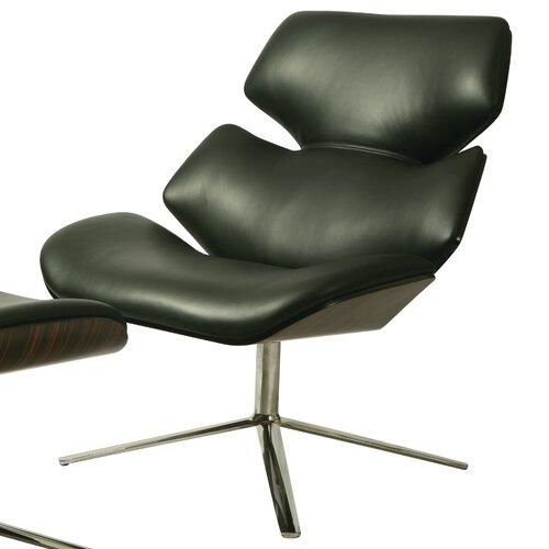 Jedzebel Leather Lounge Chair