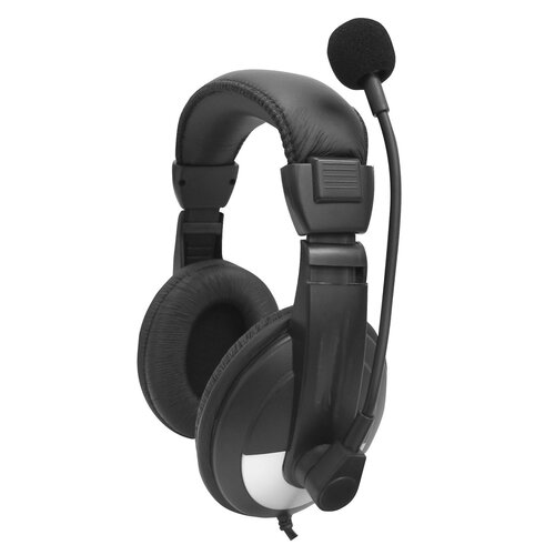 Avid Headphone with Adjustable Gooseneck Microphone