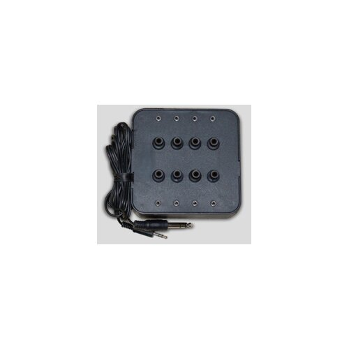 Avid Eight Position Socket Stereo Jack Box in Black
