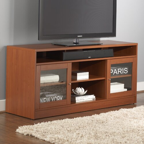 Jesper Office TV Stand with Soundbar Shelf