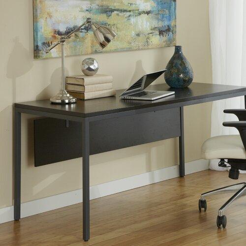 Jesper Office Writing Desk with Modesty Panel