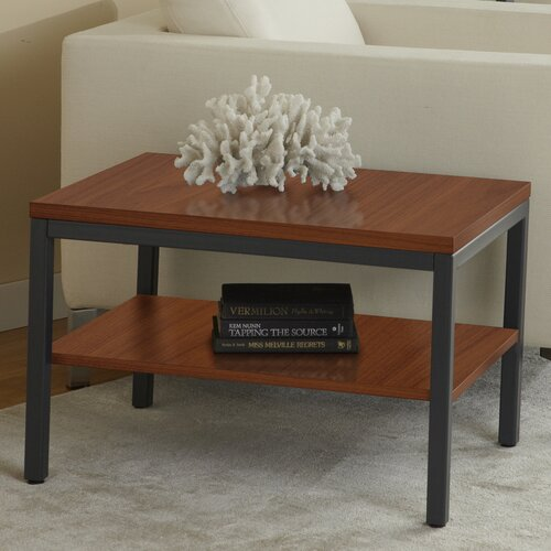 Jesper Office P2720S Parson End Table with Shelf
